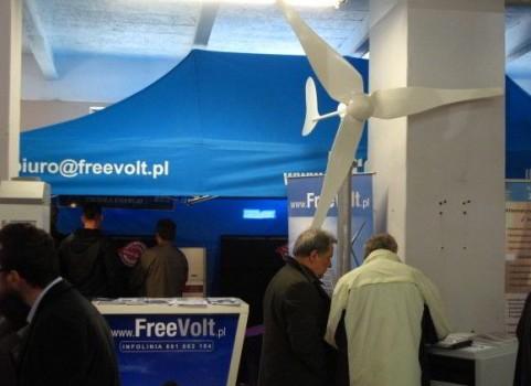 Stoisko Freevolt - Targi Energii Odnawialnej Faba 2015