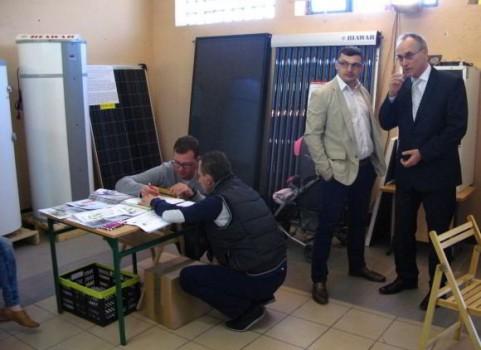 Stoisko Biawar - Targi Energii Odnawialnej Faba 2015