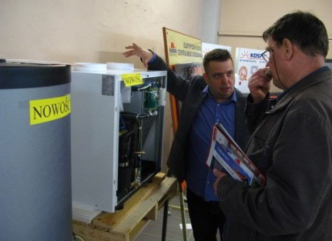 Stoisko Kospel - Targi Energii Odnawialnej Faba 2015