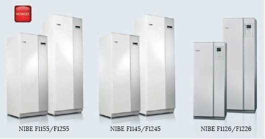 Gruntowe pompy ciepła NIBE